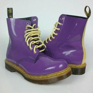 Dr Martens Pascal Patent Lamper Boots 8